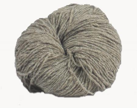 Hank of light grey Jacob knitting wool
