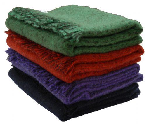 Irish wool knee rugs