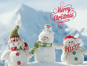 woollen snowmen