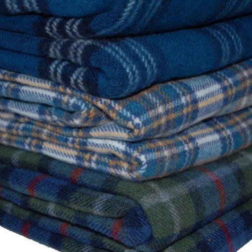 Killarney lambswool blanket throws selection