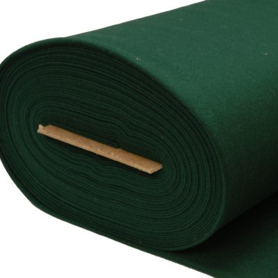 wool Serge cloth in bottle green 6025 roll