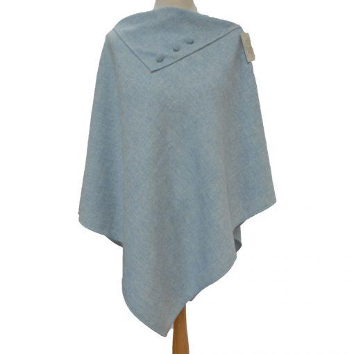 Irish Tweed poncho, Donegal Tweed, Poncho, Kerry Woollen Mills